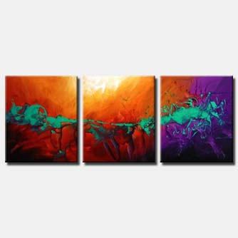1 abstract contemporary painting