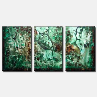 multi panel canvas wall decor