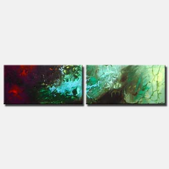 diptych abstract