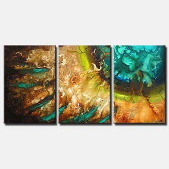 modern abstract wall decor