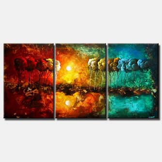 1 multi panel canvas landscape