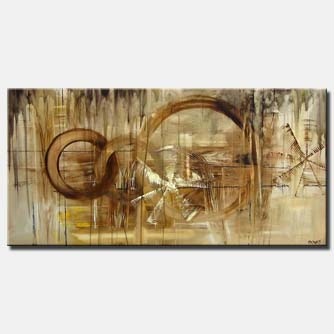 large geometric abstract art
