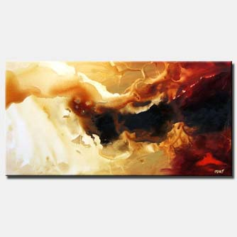 large abstract home decor painting