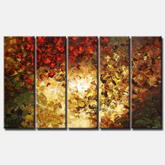 blowing away forest trees multi panel