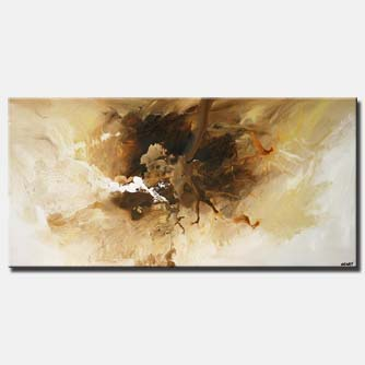 modern white brown abstract  home decor