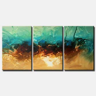 home and living room decor triptych