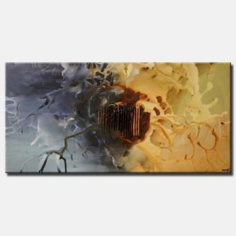 large modern painting home decor splash