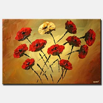 red roses floral flowers home decor