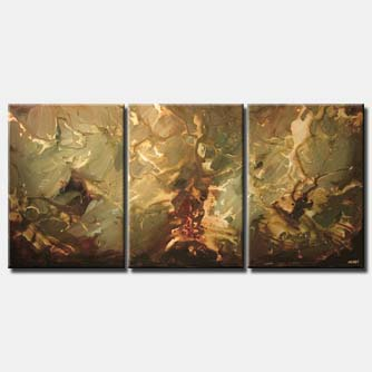 large triptych home decor soft wall