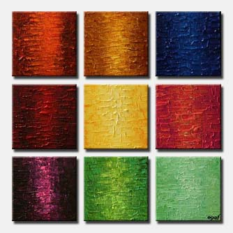 texture solid color abstract multi panel square