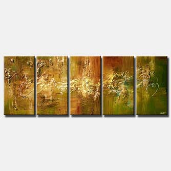 multi panel home decor painting large art