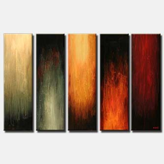 multi panel modern home decor painting