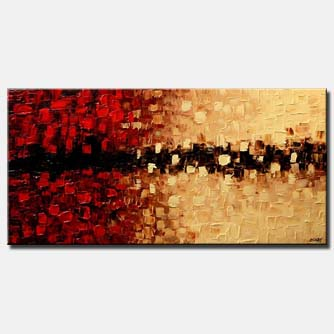canvas print of contemporary modern decor