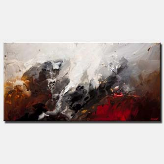 canvas print of abstract art modern abstract painting