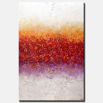 big modern colorful abstract art
