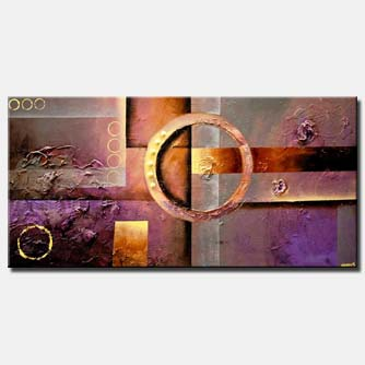 gray purple modern textured abstract art