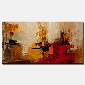 canvas print of modern abstract art