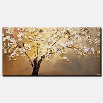 modern-palette-knife-blooming-tree-painting