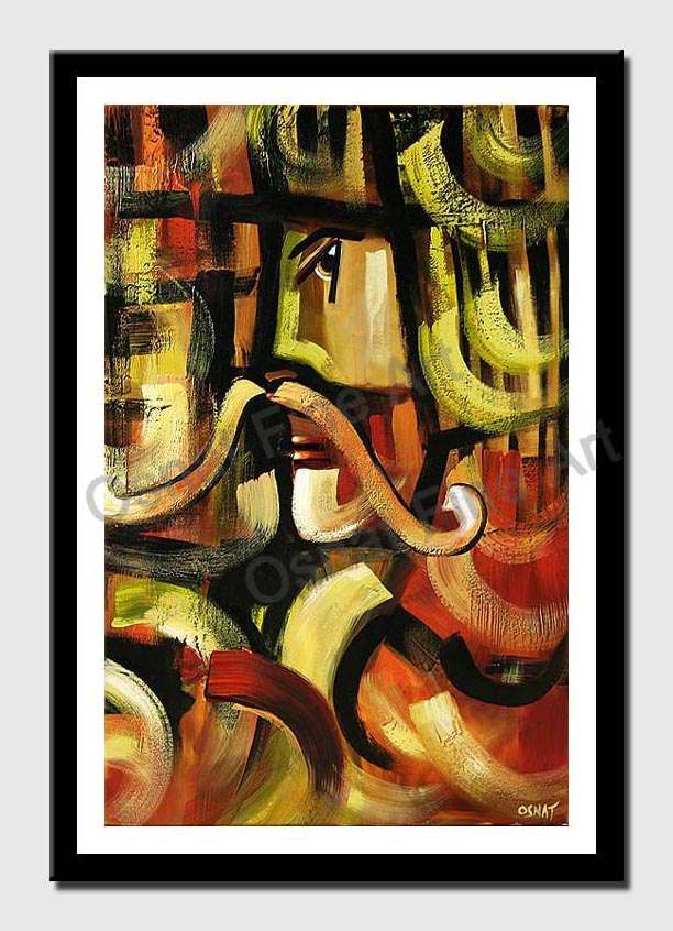 canvas print of salute to salvador dali
