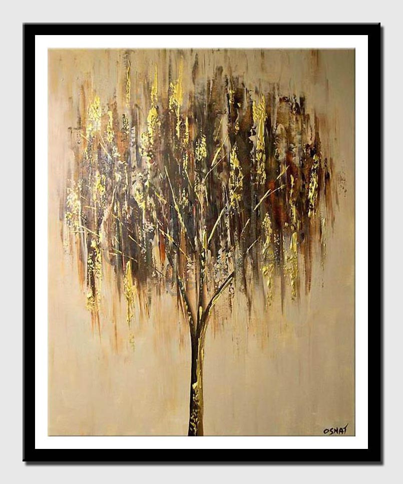 canvas print of willow tree