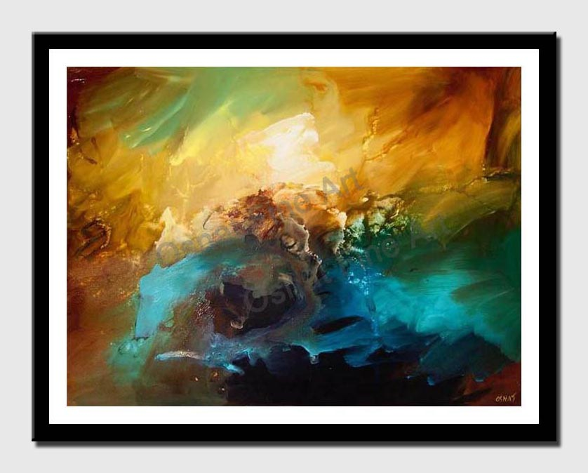 canvas print of contemporary abstract art modern painting