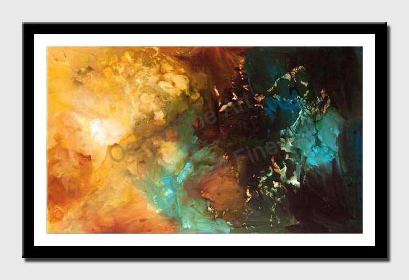 canvas print of original abstract art contemporary modern painting