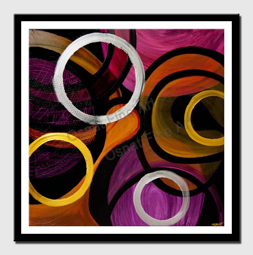 canvas print of original abstract art modern painting