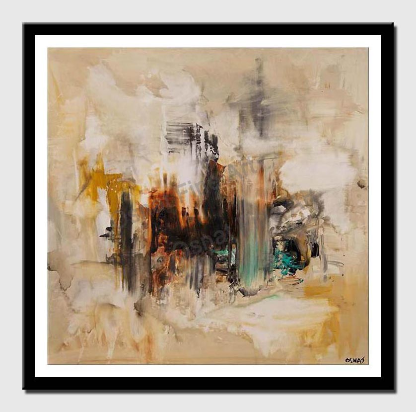 canvas print of original abstract painting contemporary art
