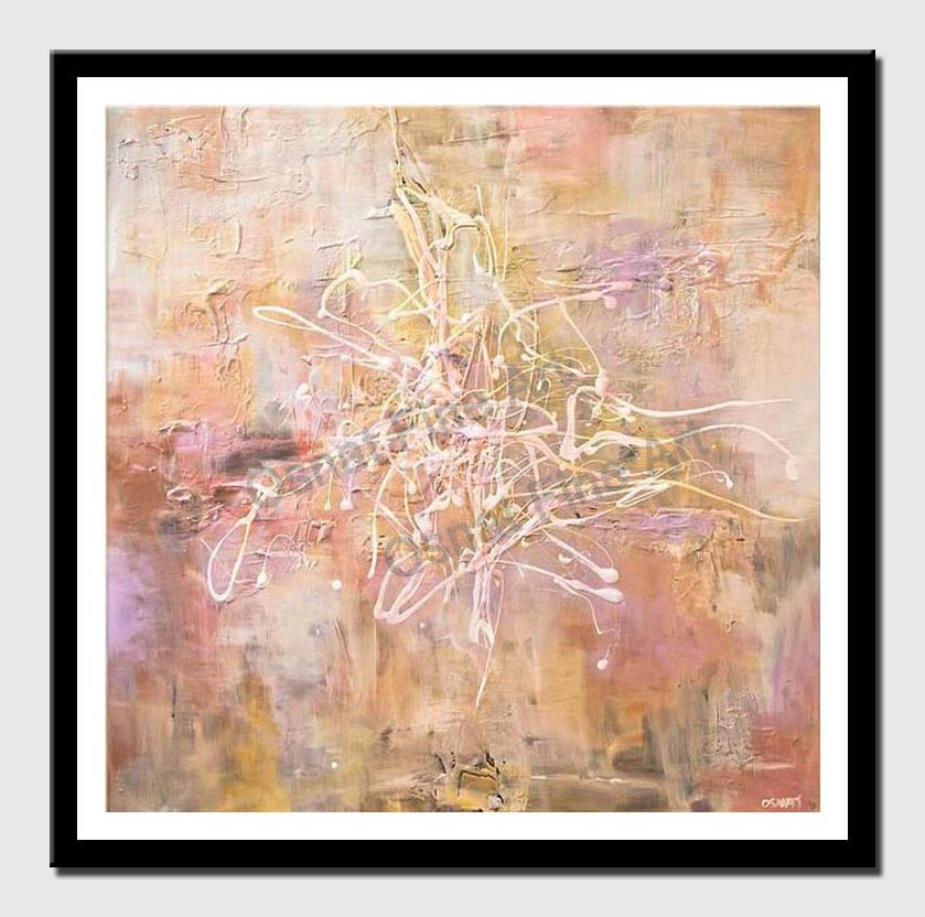 canvas print of textured abstract art