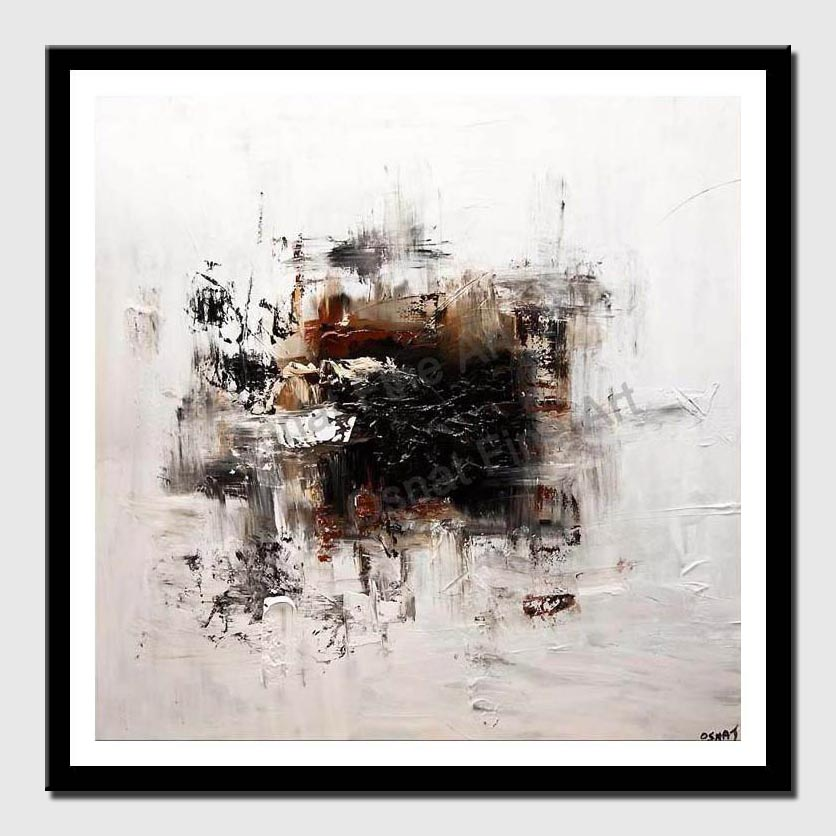 canvas print of white abstract art modern abstract painting home decor
