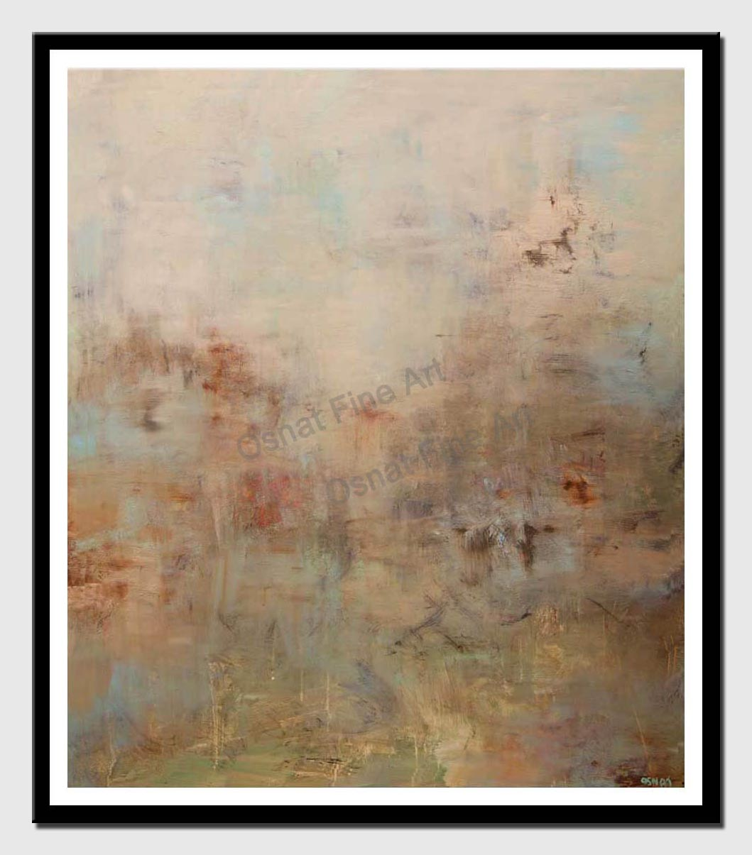 calm soft abstract art modern art