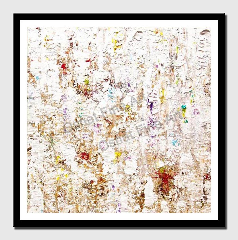 modern white textured abstract painting home decor