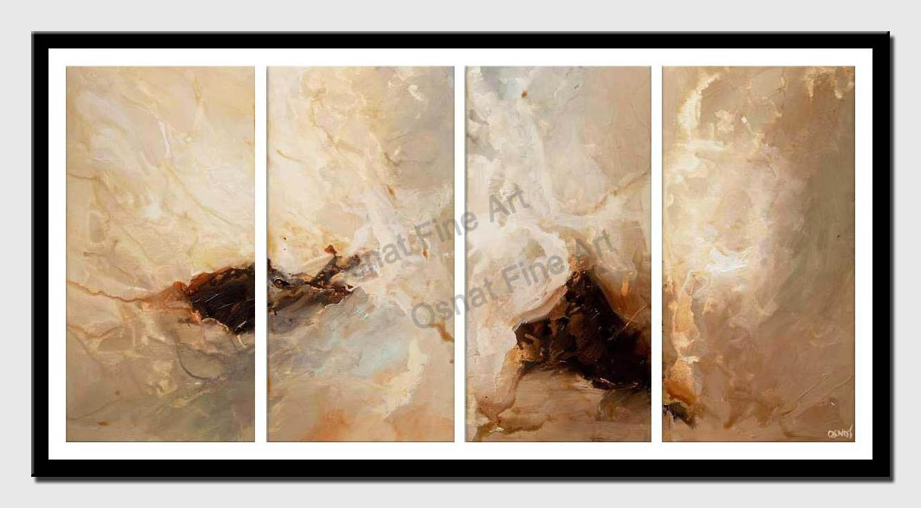 canvas print of abstract painting