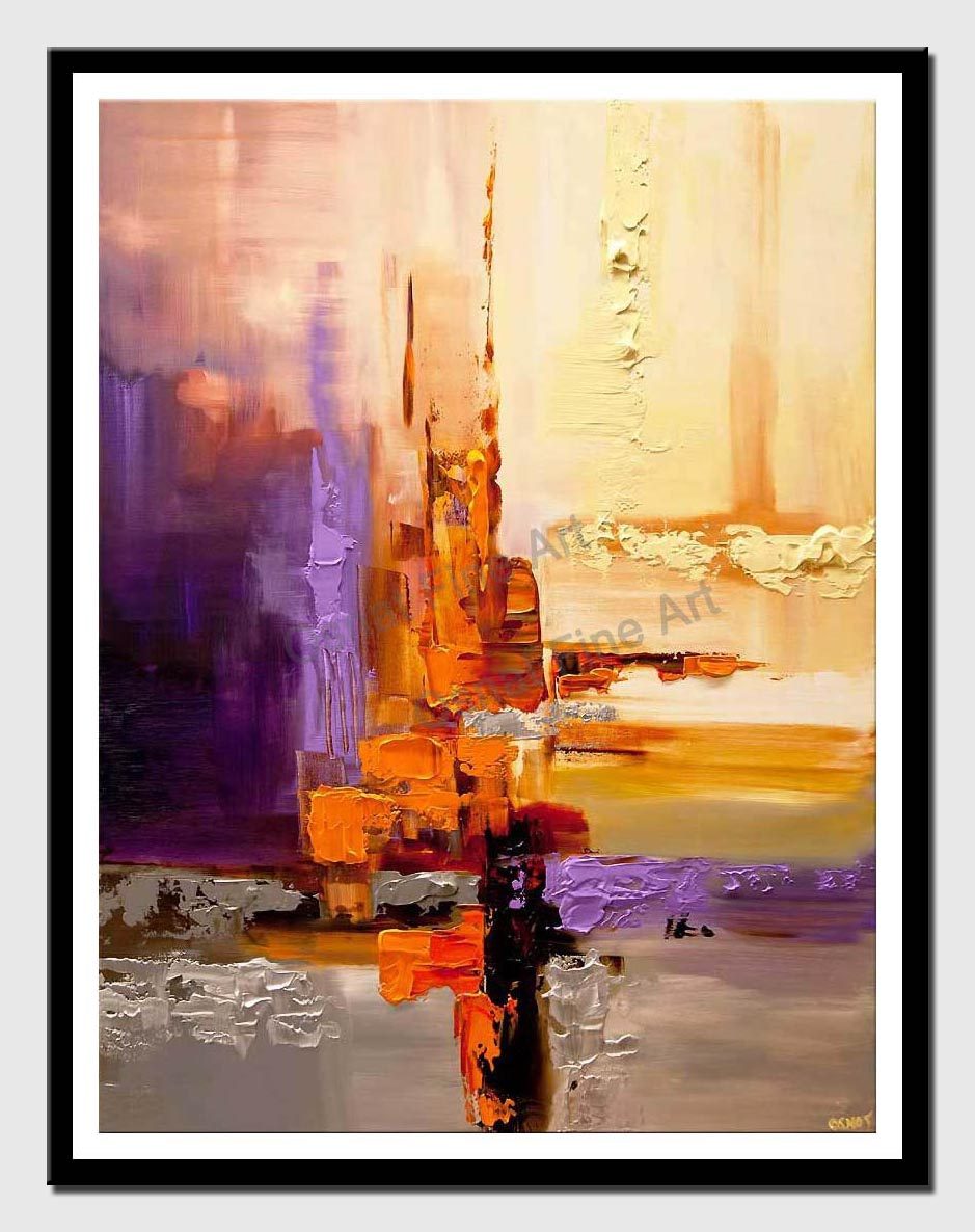 canvas print of original contemporary abstract art