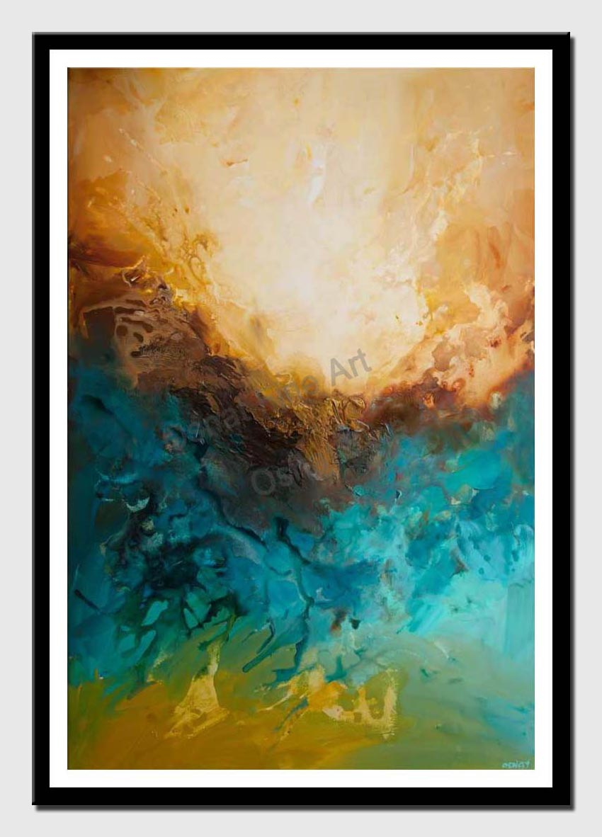 canvas print of contemporary abstract art