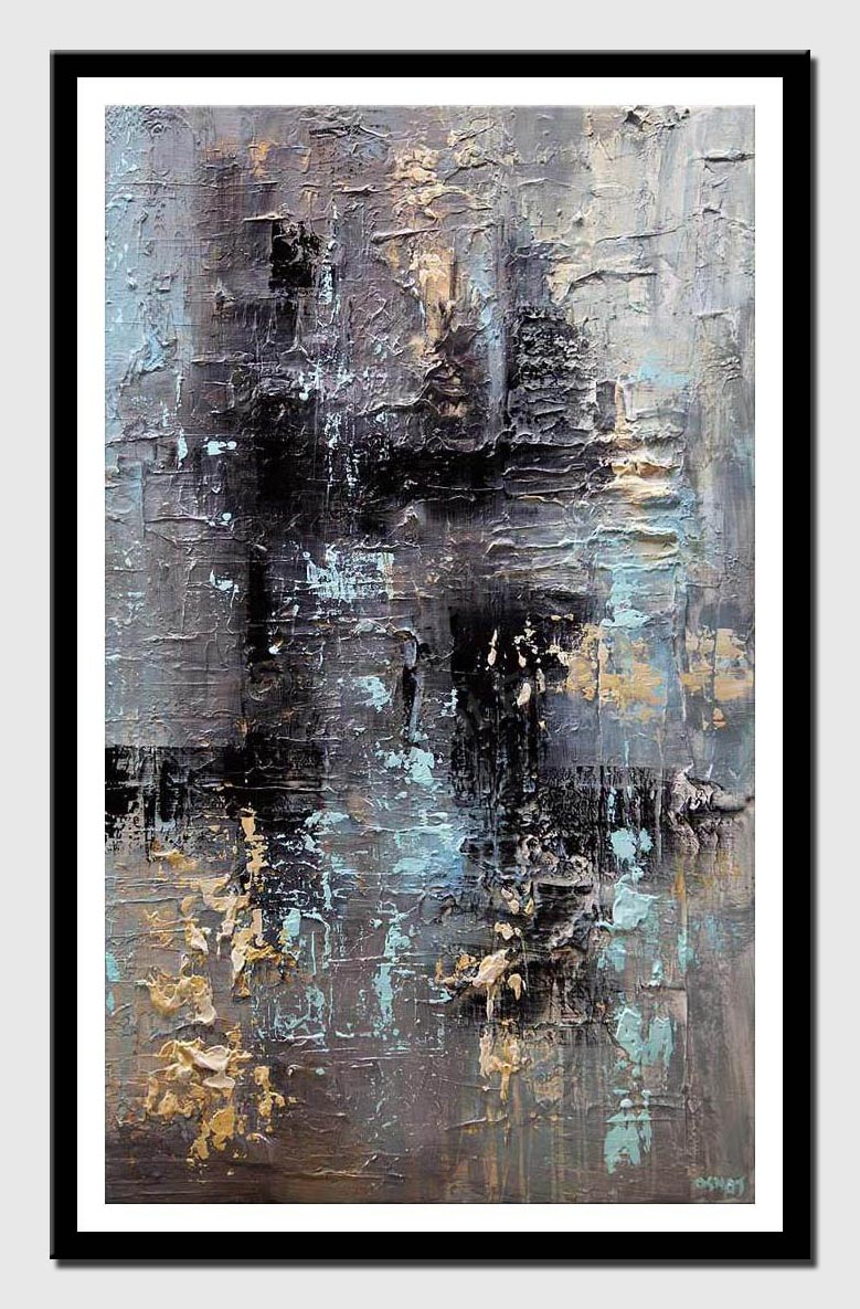 canvas print of abstract art