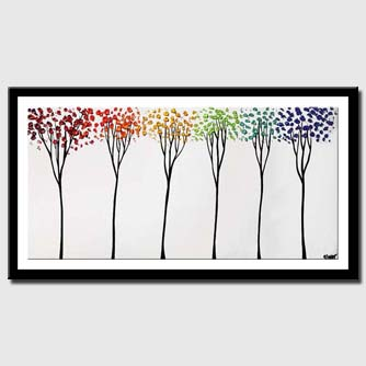 canvas print of white decorative painting