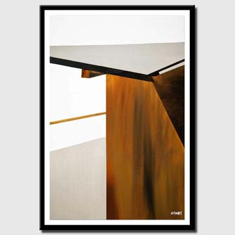 canvas print of modern wall art